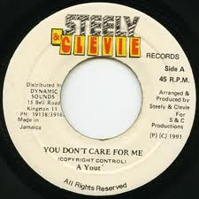 "A Yout - You Don't Care For Me 7"" Dancehall Reggae"