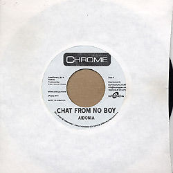 "Adonia - Chat From No Boy / Vybz Karte 7"" DANCEHALL EFX"
