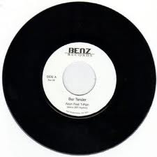 "Akon ft: T-Pain - Bar Tender (007 Riddim) / Melanie Fiona - Sad Songs (Silly Games Riddim) 7"" Benz"