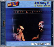 Anthony B + Junior Timba - The Nazarene Vow CD Jet Star