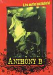 Anthony B Live On The Battlefield DVD New Sealed Reggae
