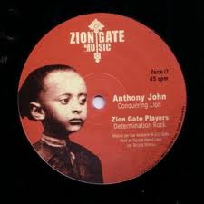 "Anthony John - Conquering Lion 12"" Zion Gate Chr Miller"