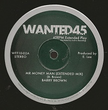 "Barry Brown - Mr Money Man (Extended Mix) / King Tubby & Aggrovators - Mr Money Man Dub 10"" Wanted45"
