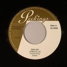 "Chris Ellis - English / Raphael Nkereuwem - Good Old Vibes 7"" Peckings NEW 2012"
