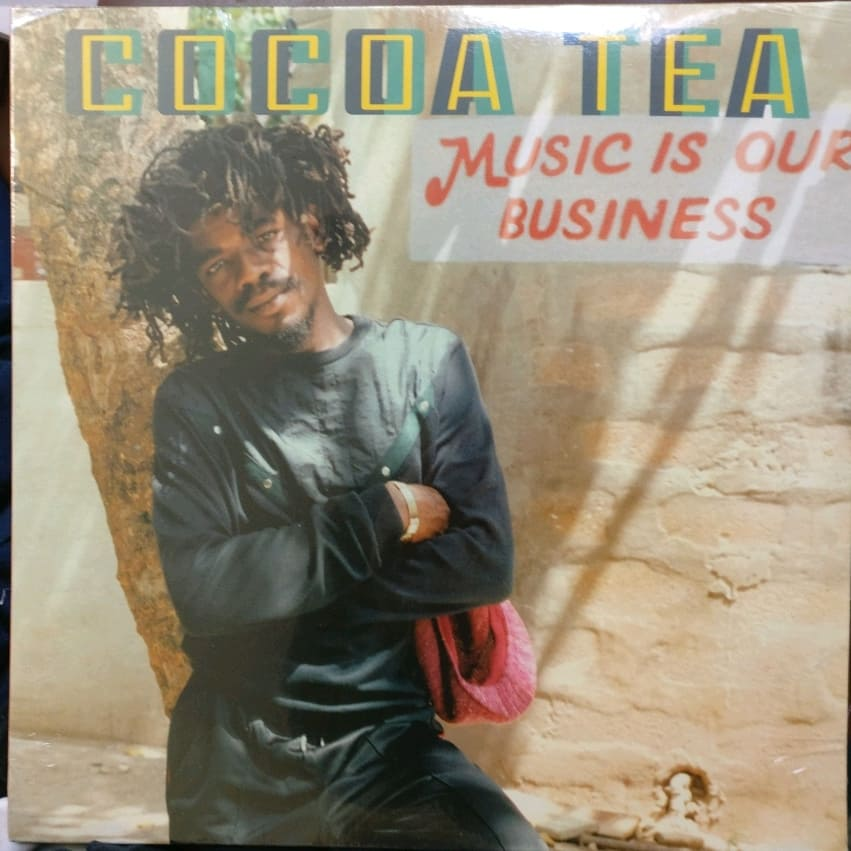 Cocoa Tea - Music Is My Business LP VP Records VPRL2678