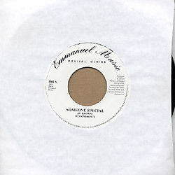 "Dennis Brown - Someone Special / Version 7"" New Reissue EMMANUEL MUSIC Roots"