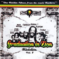 Graduation In Zion Riddim CD Roots Reggae Kiddus I