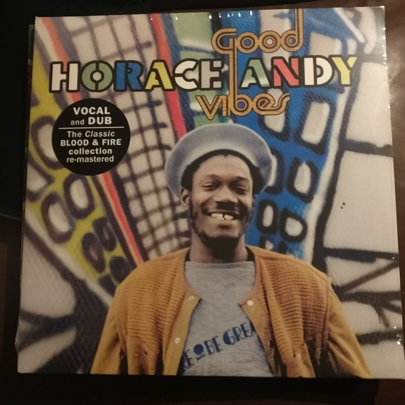 Horace Andy - Good Vibes 2xLP VP Records