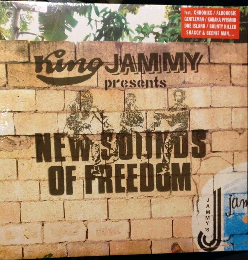 King Jammy presents New Sounds Of Freedom LP VP Records