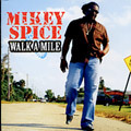 Mikey Spice - Walk A Mile CD VP records Lovers Reggae